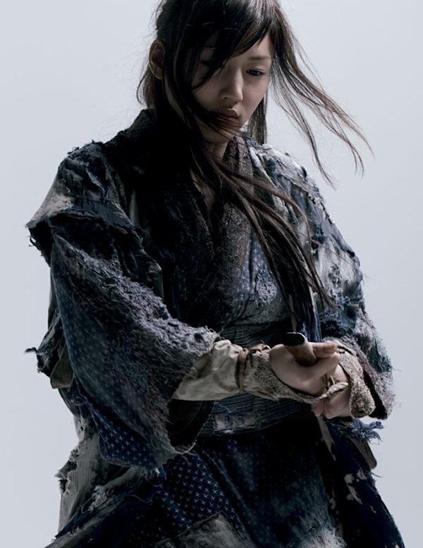 Haruka Ayase in  Ichi.    A loose reinterpretation of  Zatoichi .