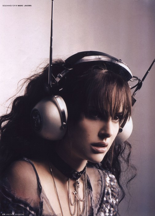 Natalie Portman. I blame her for my obsession of attached earlobes, although they are covered here.