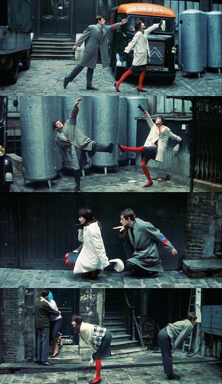 slowleaner :      moviesinframes :      Une Femme Est Une Femme  (A Woman Is A Woman), 1961 (dir. Jean-Luc Godard)   by  Keishia