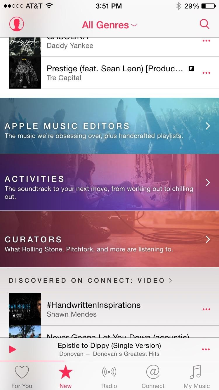 Apple Music June 2015
