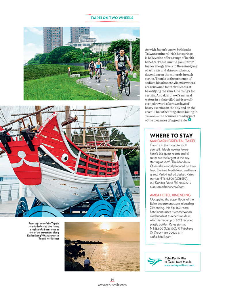 Cebu Airlines Smile Magazine July 2015