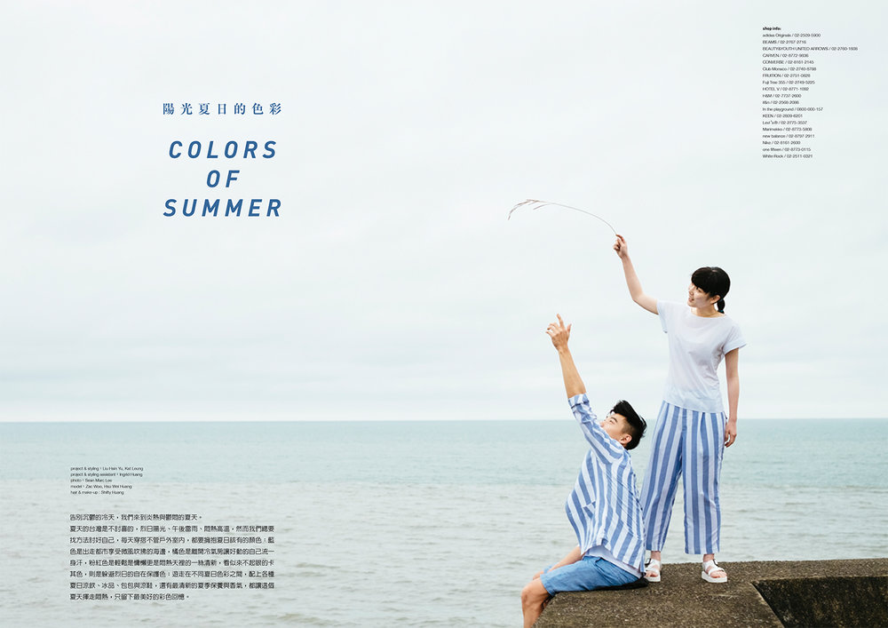 M.Mag Colors of Summer Editorial June 2016