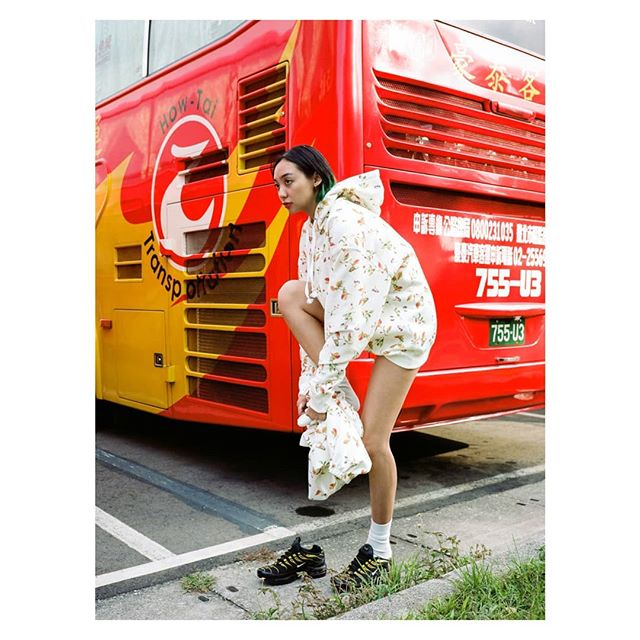 CITY OF MAMBO  Opening tonight @domicile.tokyo in Shibuya!  @cococoralcorona for @kochet.kov  PJs forever.  #ga645i #fujifilm #kodak #portra160 #film #pajamaparty #cityofmambo #fashion