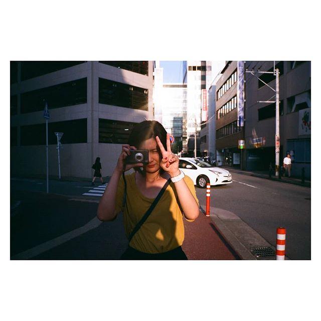 ☀️📸🎤🍦 in Fukuoka  #contaxt2 #venus800 #fujifilm #film #team_yks