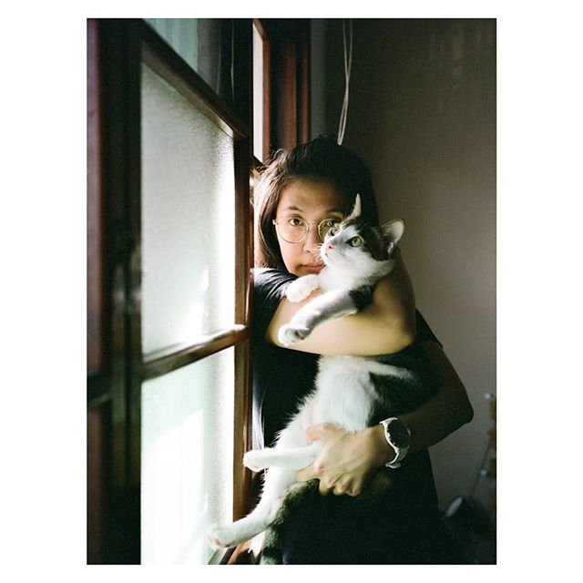 The prince and the queen  #team_yks #ga645i #fujifilm #portra #kodak #film #guabaothecat