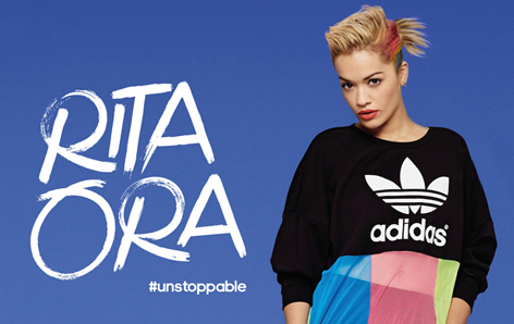 adidas x Rita Ora Q. How to launch a new global collection with a major celebrity using nothing but her spirit and community? A. We created #Unstoppable, a community focused campaign that puts female fans centre stage, by inviting them to become part of a shoppable lookbook. Along with social content we kept the conversation alive over three months.
