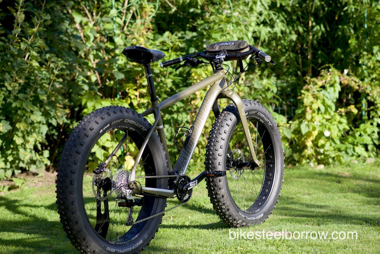 2017 Cannondale Fat Caad 2 Military Trails Bike Steel Borrow