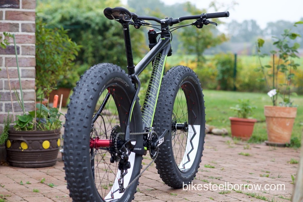 Fat Bike Bike Steel Borrow