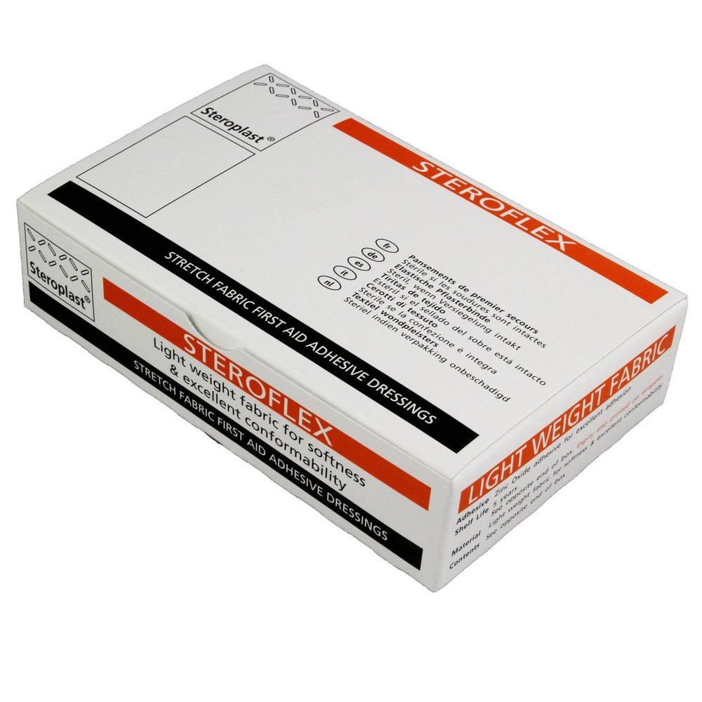 Steroplast StretchFabric Plasters