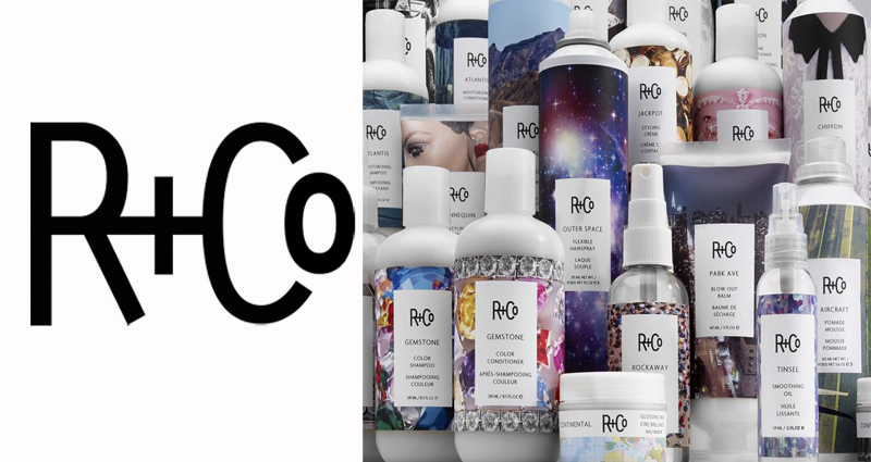 Introducing R+Co to the product line up....full range of exclusive shampoos, conditioners and styling aids