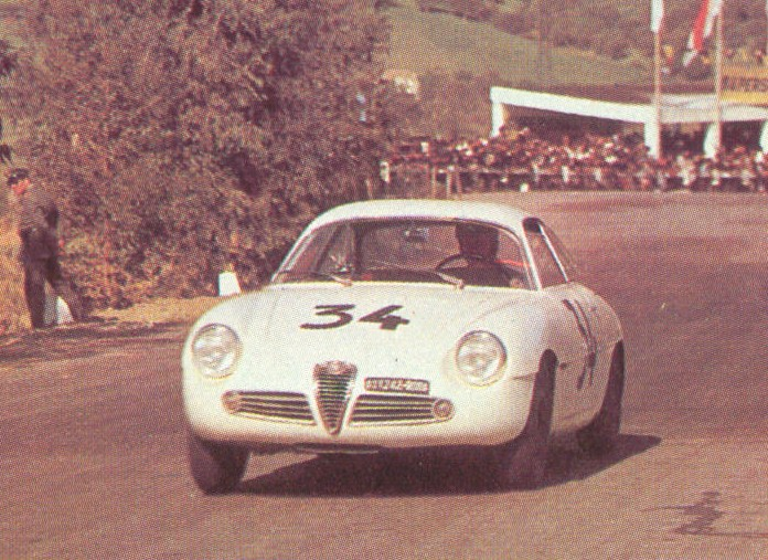 Targa Florio 1961 Enzo Buzzetti driving chassis number 00012