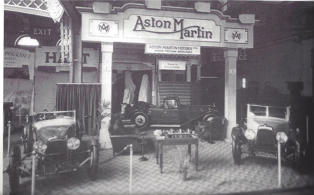 The 1927 Motor Show S4 on the left