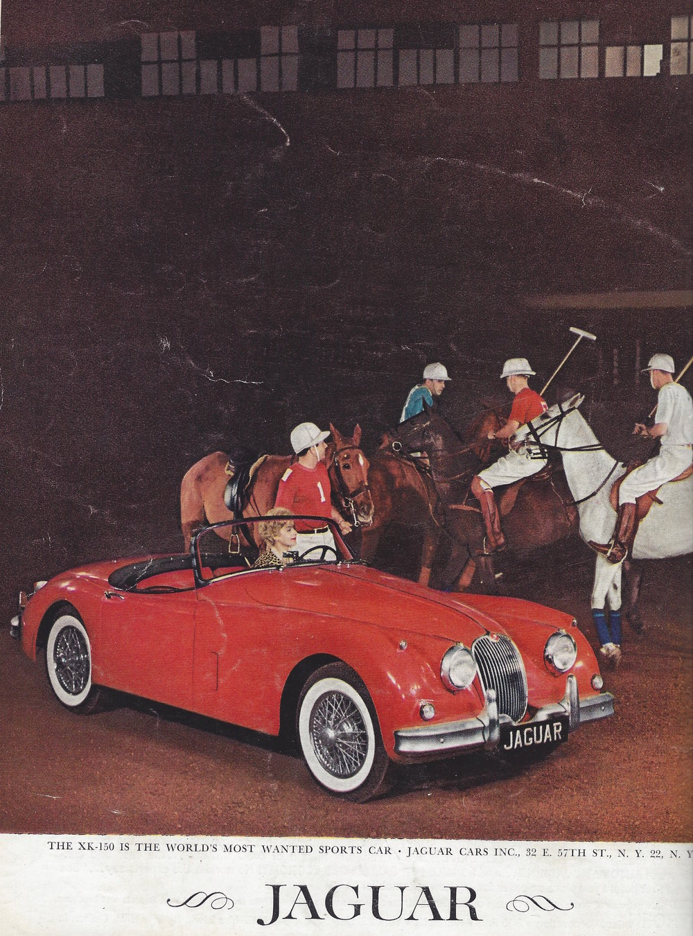 Period XK150 Roadster Advertising