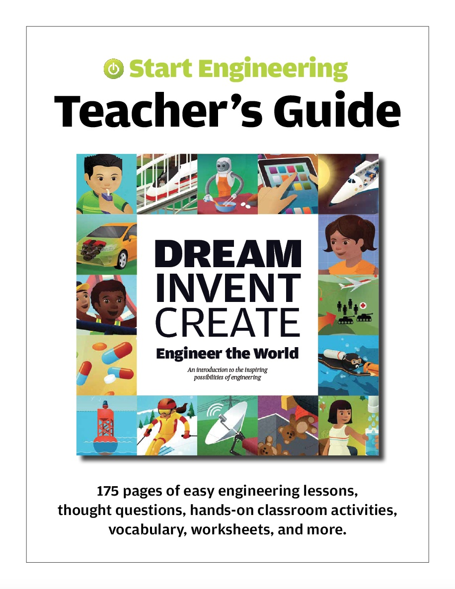 Our new Teacher's Guide makes it easy for any elementary school teacher to get started teaching engineering.