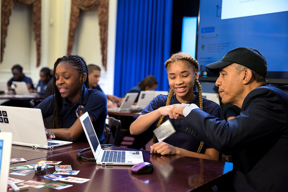 President Obama has made computer science in K-12 schools a priority for federal education policy. Getting teachers ready, identifying adequate instructional materials, and finding time in a busy school day will all pose challenges.