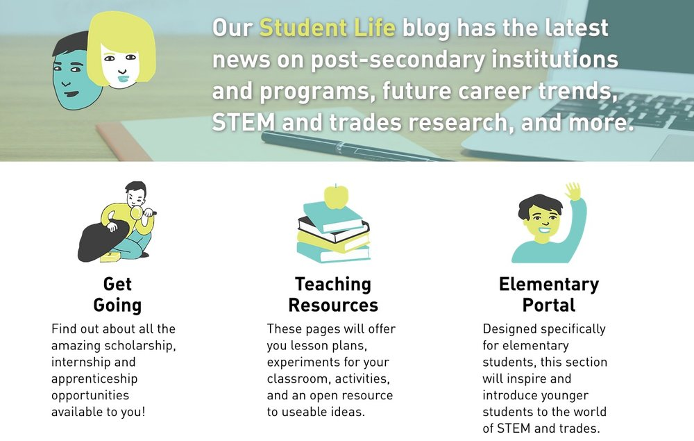 Resources on The Career Gadget can help students find their way to the STEM career right for them. Teachers will find ready-to-use classroom resources, including a special section for elementary educators.