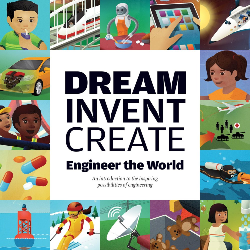 Our elementary-level engineering book lends itself to various kinds of literacy exercises.