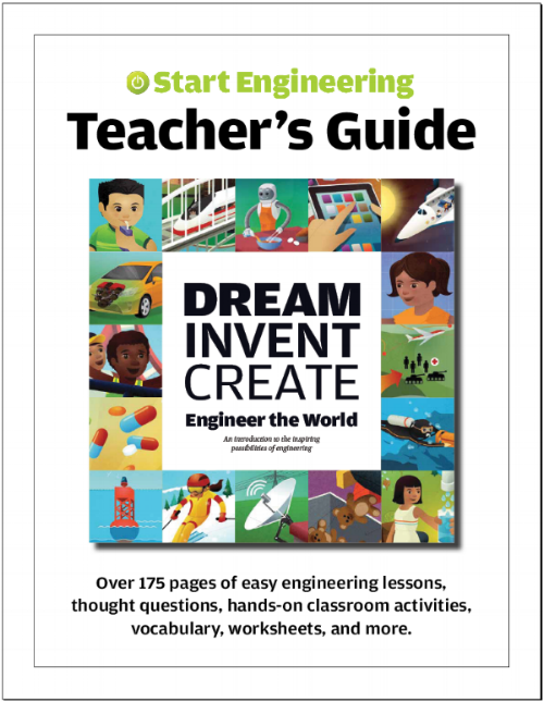 teacher s guide 25 dream invent create books poster start rh start engineering com teacher s guide to cf teacher s guide third grade