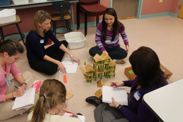 Teacher training activities for K-12 educators at all levels provide real engineering experiences as well as guidance in how to make it engaging and accessible to students.