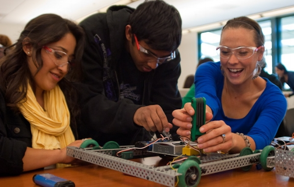 At all levels of K-12, engineering is becoming more and more commonly taught.
