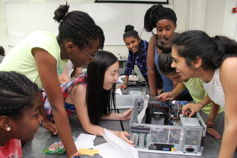 Diversity in cybersecurity education programs can be a challenge. NYU's program works specifically to interest high school girls in the field.