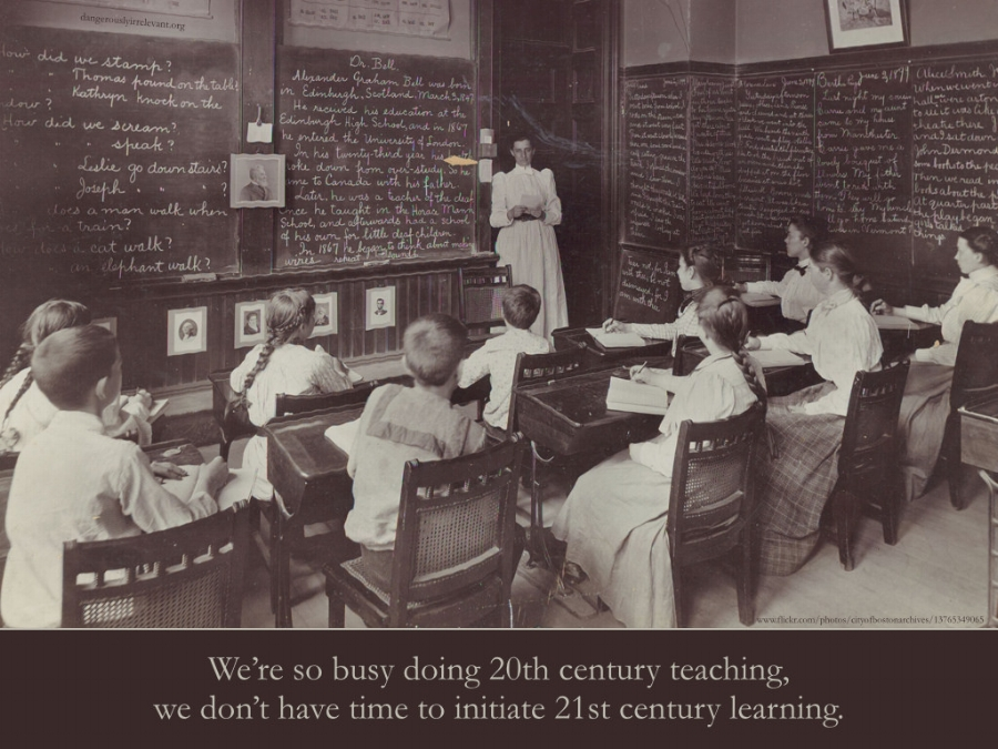 Change in the classroom takes a lot of time, one of the scarcest resources for elementary educators.