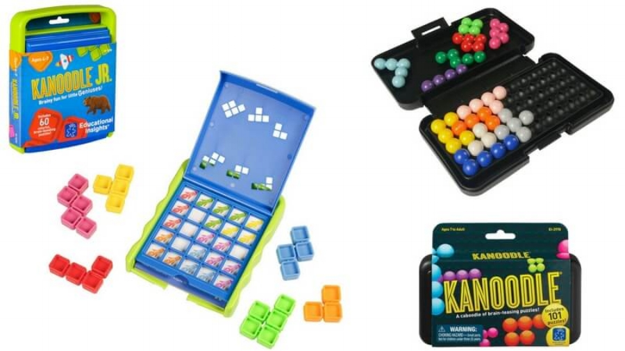 All five of the Kanoodle games offers good, smart, reliable fun, for all ages.