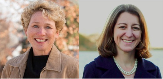 Chrissy Houlahan, left, and Elaine Luria, right, are both engineers and newly elected Members of Congress.