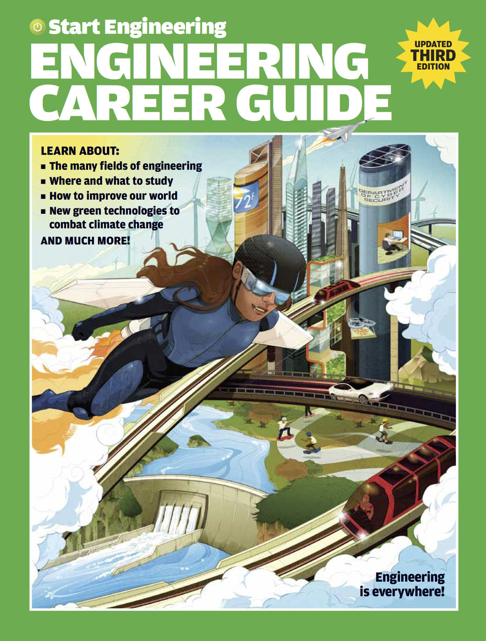UPDATED FOR 2019! Show middle and high school students all the great opportunities a degree in engineering can offer.