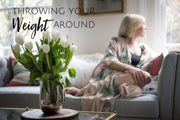 Throwing Your Weight Around Blog Carrie Montgomery