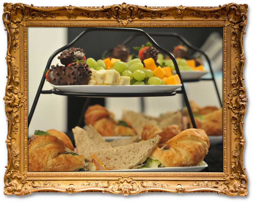HIGH TEA SANDWICH TRAYS
