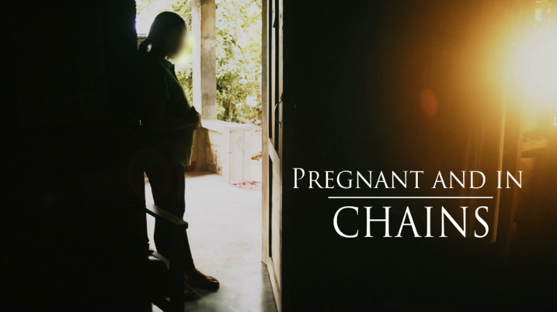 Pregnant And In Chains