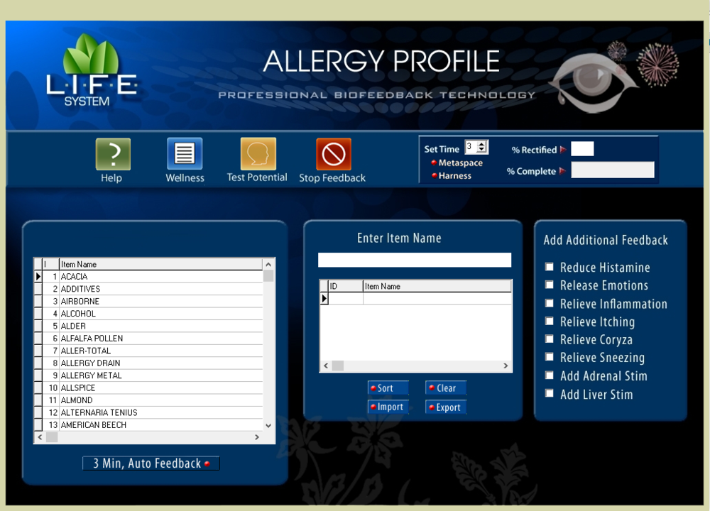 ALLERGY PROFILE