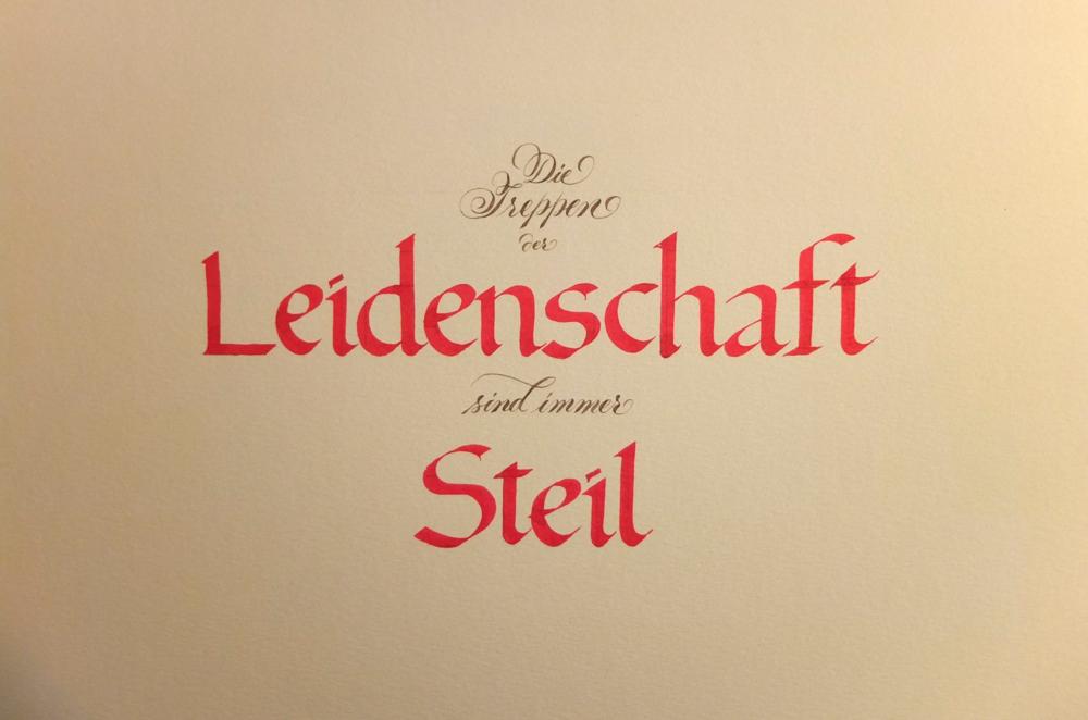 Foundational Calligraphy Workshop — MAKE! Skilled Hands