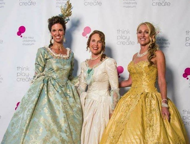 Event Co-Chair Michelle McSweeney Alexander, NCM Executive Director Julianne Markow, and NCM Chairman of the Board of Directors Celeste Hilling, all styled by LEO DUO.