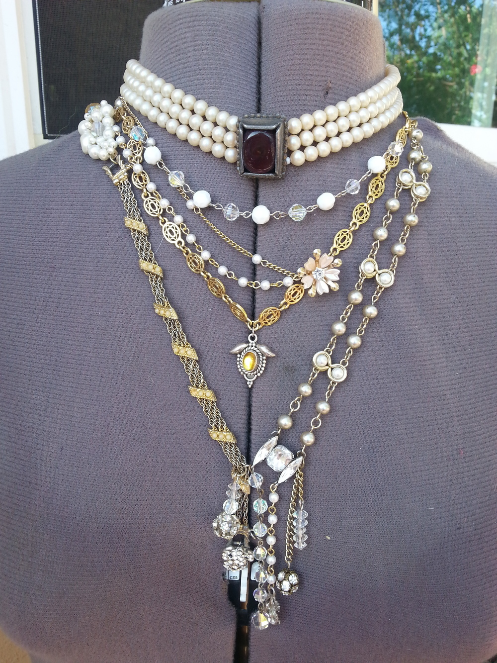 The LEO DUO Heritage Wedding Necklace: something old becomes something new!