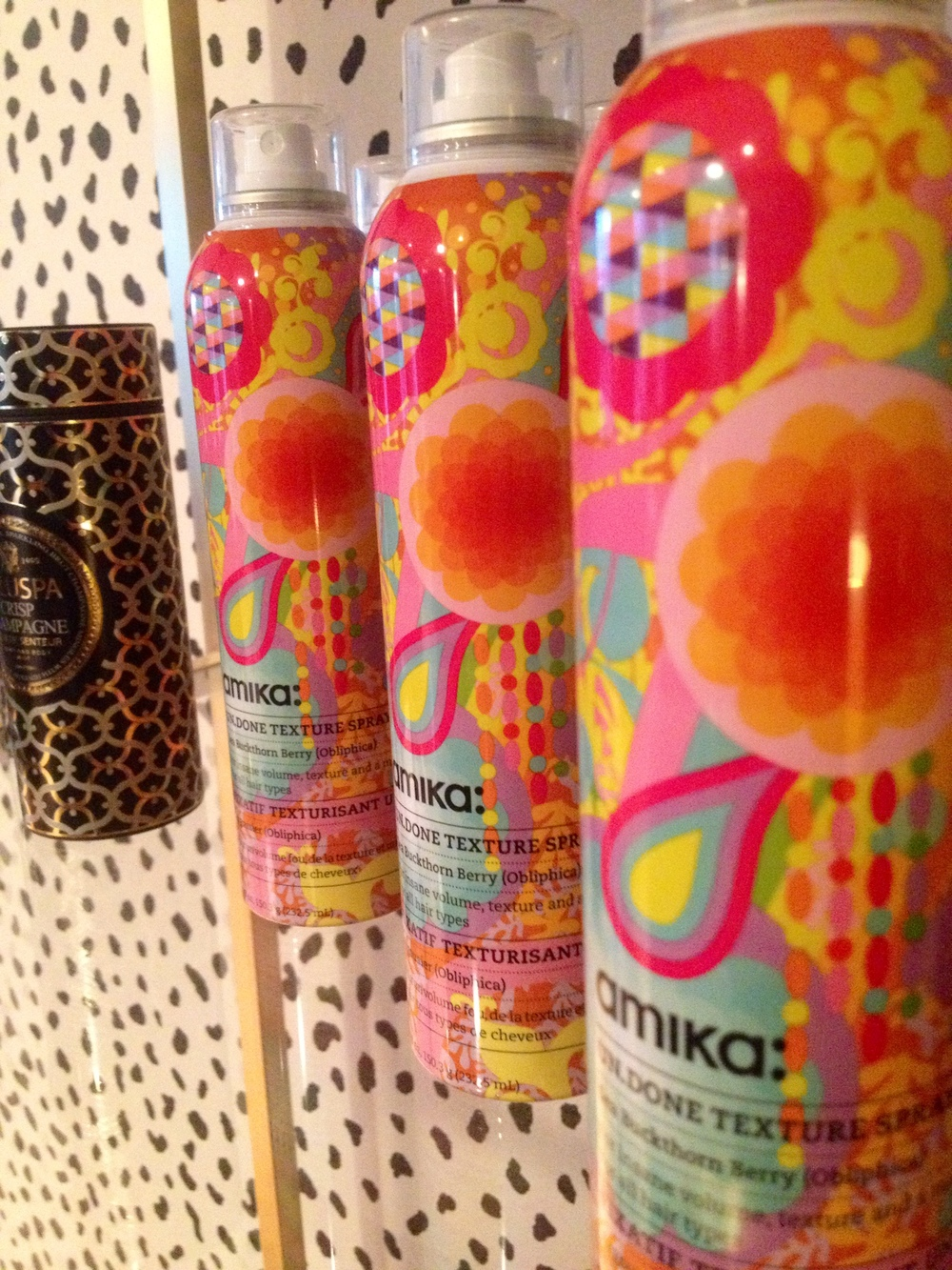Amika styling line - means girlfriend in Latin… the perfect eco-friendly niche product for long-lasting, touchable styles.