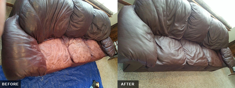Leather Sofa Fatigue Repair and Restoration Oakland County, MI - Leather Sofa Fatigue Repair and Restoration Macomb County, MI - Leather Sofa Fatigue Repair and Restoration Wayne County, MI