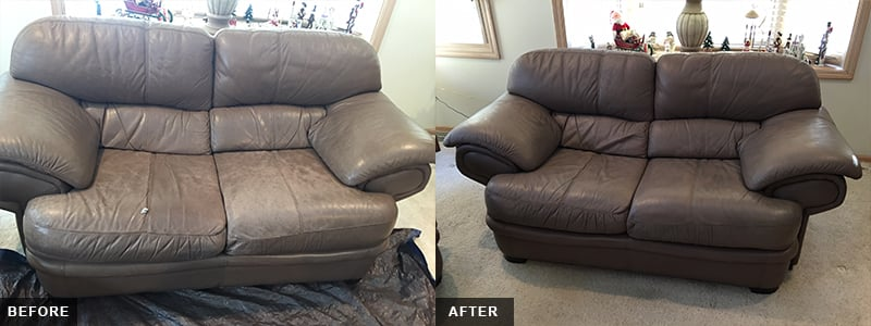 Leather Love Seat Fatigue Repair and Restoration Oakland County, MI - Leather Love Seat Fatigue Repair and Restoration Macomb County, MI - Leather Love Seat Fatigue Repair and Restoration Wayne County, MI
