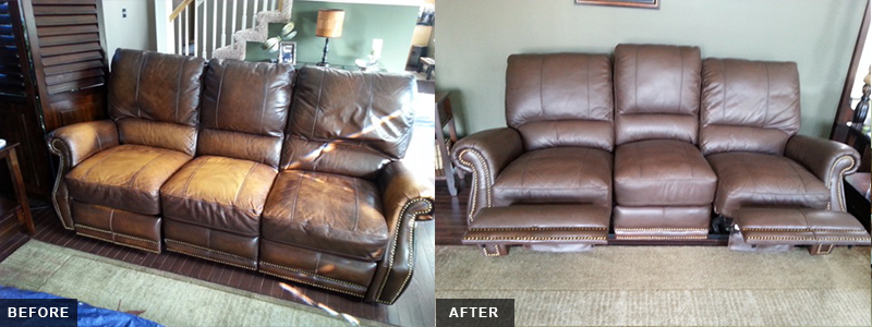 Leather Sectional Fatigue Repair and Restoration Oakland County, MI - Leather Sectional Fatigue Repair and Restoration Macomb County, MI - Leather Sectional Fatigue Repair and Restoration Wayne County, MI