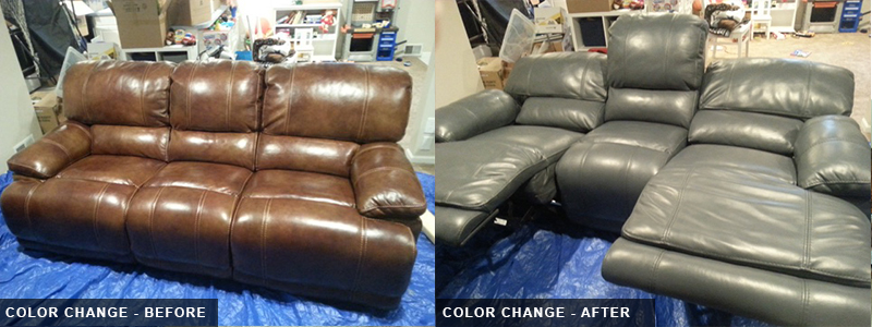 Leather Theatre Color Change Repair and Restoration Oakland County, MI - Leather Theatre Color Change Fatigue Repair and Restoration Macomb County, MI - Leather Theatre Color Change Repair and Restoration Wayne County, MI