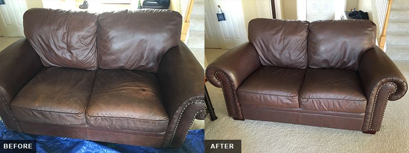 Leather Two Seater Fatigue Repair and Restoration Oakland County, MI - Leather Two Seater Fatigue Repair and Restoration Macomb County, MI - Leather Two Seater Fatigue Repair and Restoration Wayne County, MI