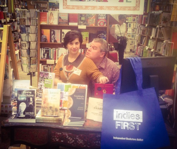 Lisa Brown & Daniel Handler at  The Booksmith  in San Francisco