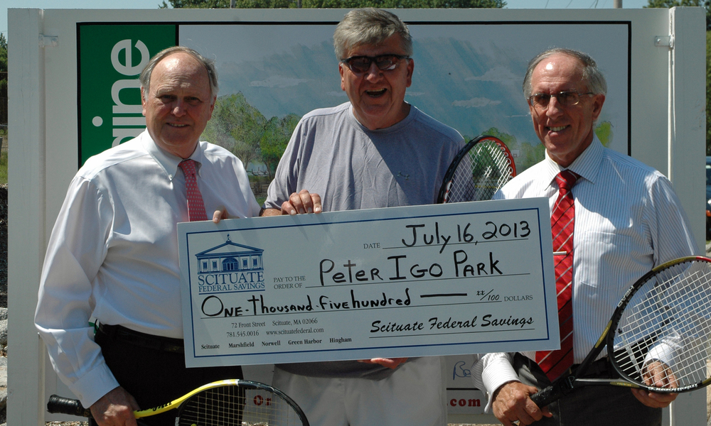 Scituate Savings Donates to Peter Igo Park