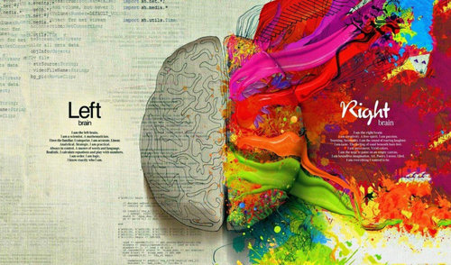 - The right and left side of the brain has scientifically been proven to produce different types of traits in people. The conventional side is operated by the left hemisphere of the brain; which is responsible for logic; like science and mathematics. The unconventional or right hemisphere of the brain deals with the creative and art lifestyle. In the artist world there can be a similar development; I like to call this the conventional vs the unconventional mindset; but neither are limited to only one side use only.When moving the conversation from a scientific definition to art I find that the definition tends to overlap. The conventional way of artmaking can be based on what is generally done, believed or standard; compared to the unconventional which is not based on or conforming to what is generally done or believed; in other words being irregular. Both exist in the same worlds and often times can not exist without one another. I myself need the balanced structure of having a standard frame of thought to comprehend my abstract ways of creating and turning an ordinary piece of work into so much more.Art making is its own process of thought, creating and making executive decisions only to switch them with the flick of the brush. Looking at the conventional way of creating, one could find themselves in a long term time battle with paint, fabric and time. The long process of laying down brilliant colors on top of each other; each layer creating its own story bringing to life portraits, landscapes and candid moments. Just like taking your first breath after birth, the canvas and oil paint mixture breathes life into the artist creation. For example, oil based paint has its own special needs from the applying process to the drying; compared to its counterparts like watercolor and acrylic paint; in order to creating its vibrant rich colors. When placed on a traditional fabric canvas surface the dry time is only stretched more as the paint soaks into and intertwines with 