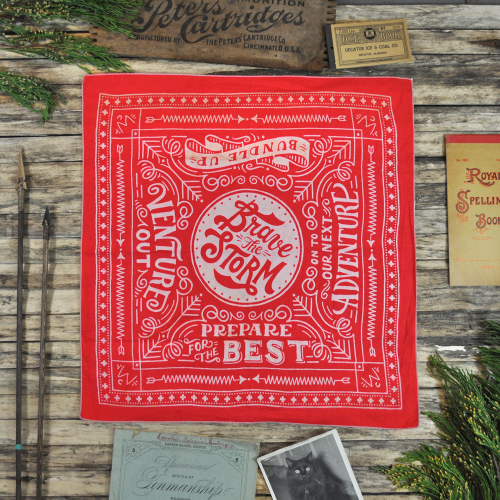 Red Winter Cabin Bandana.jpg