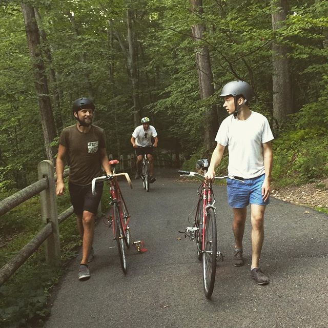 A small group for our ride last night, but man was this trail beautiful. Can't wait to visit again!