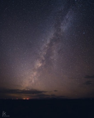 The Milky Way south of the Bosque del Apache.