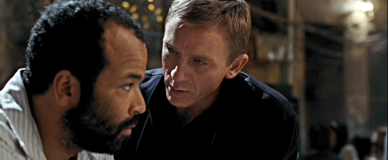 Felix Leiter and James Bond -Quantum of Solace
