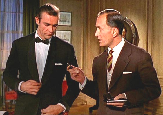 Bond beloved Beretta is replaced with a Walther PPK in Dr. No.